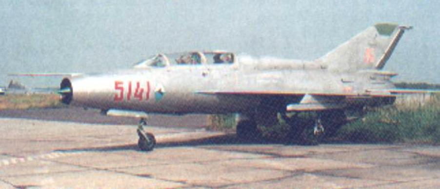 Pierwszy egzemplarz MiG-21 US nb 5141 w Polsce. 2002 rok. Zdjęcie LAC