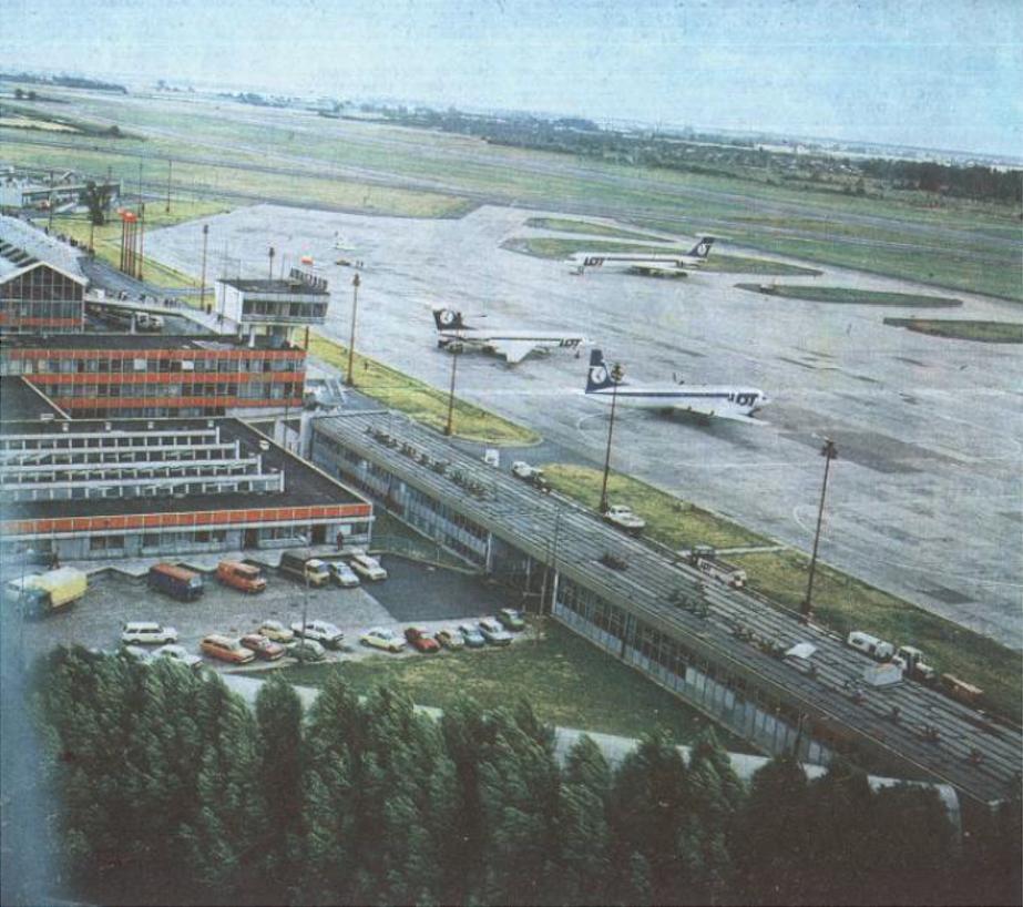 Okęcie 1988 year. Photo of LAC