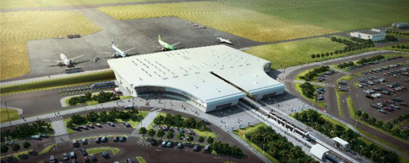 Lublin-Świdnik Airport Project. 2011 year. Photo of LAC