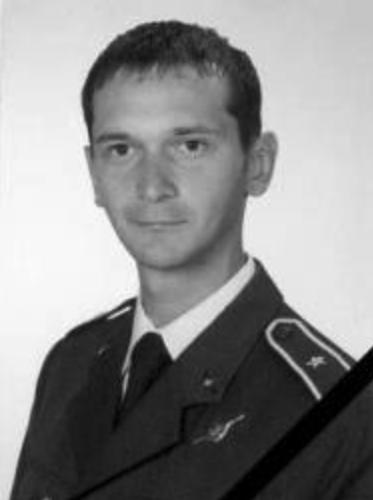 Chorąży Andrzej Michalak - on-board mechanic.
