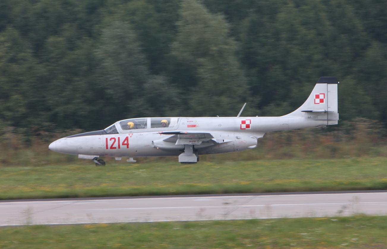 TS-11 Iskra nb 1214 prywatny. Babie Doły 2019 rok. Zdjęcie Waldemar Kiebzak
