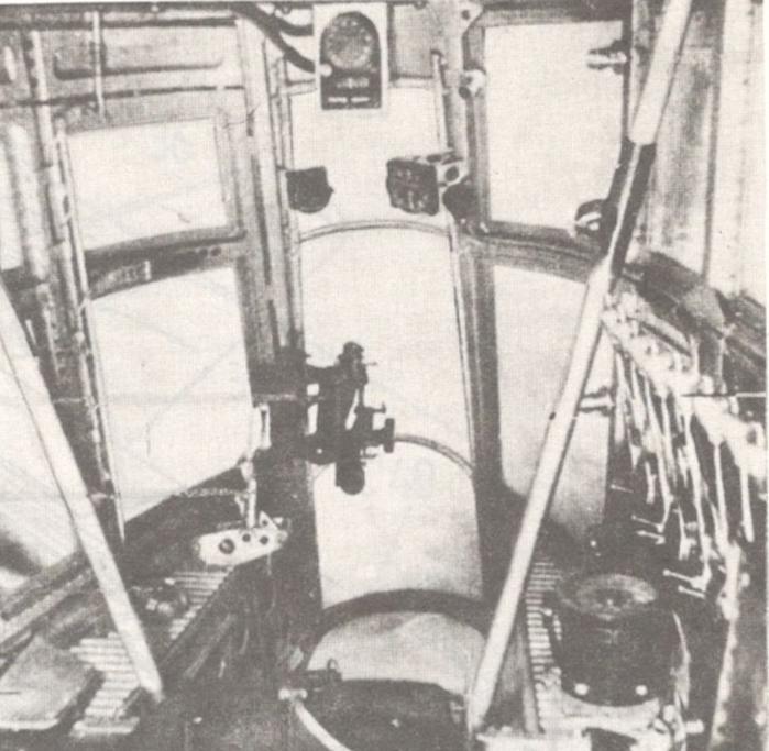LWS-6. Przednia kabina. Zdjęcie LAC