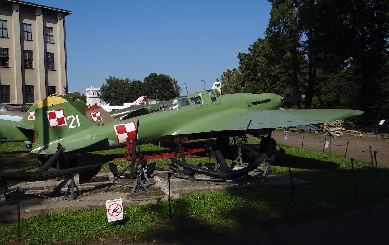 Ił-2 nb 21. 2012 year. Photo by Karol Placha Hetman