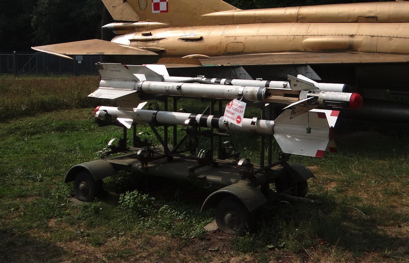 MiG-21 z pociskiem R-3S. 2019 rok. Zdjęcie Karol Placha Hetman