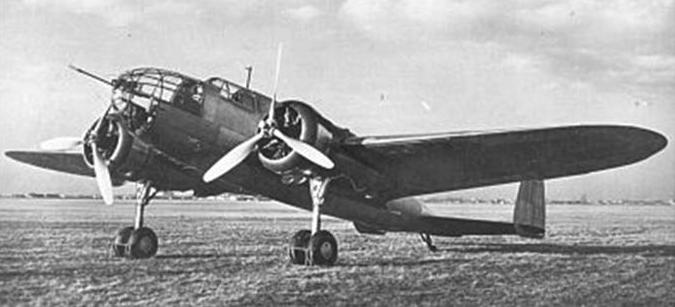 PZL-37 / II Łoś nr 0003 Okęcie Airport. Photo of LAC