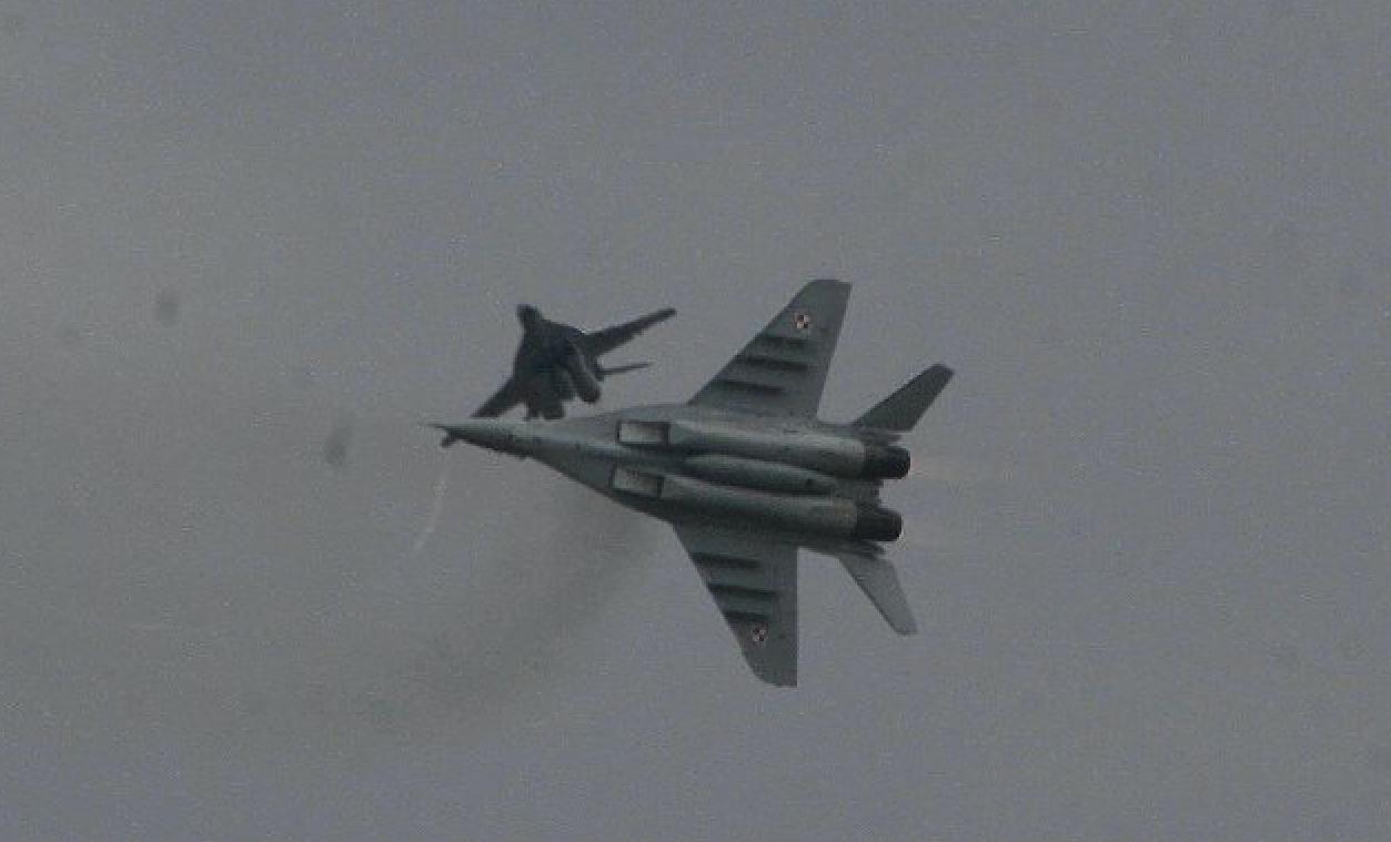 MiG-29. 2007. Photo by Karol Placha Hetman