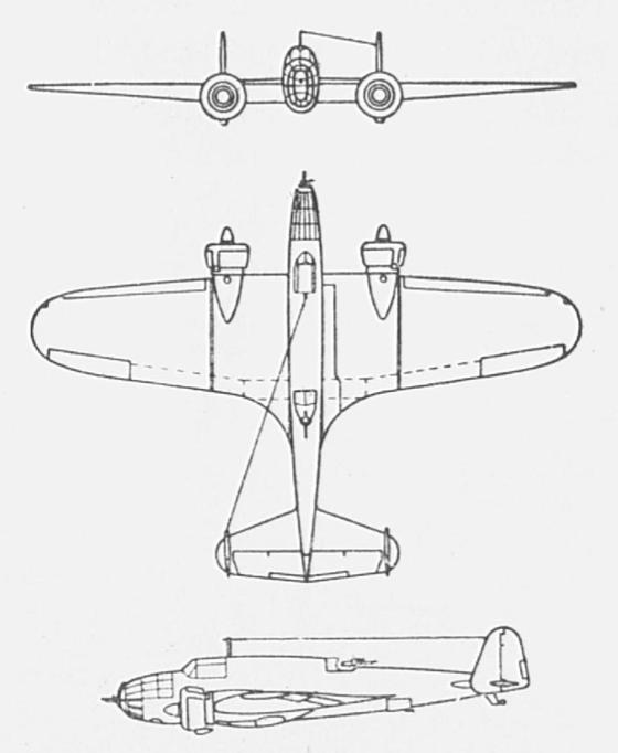 PZL-37 B Łoś. Photo of LAC