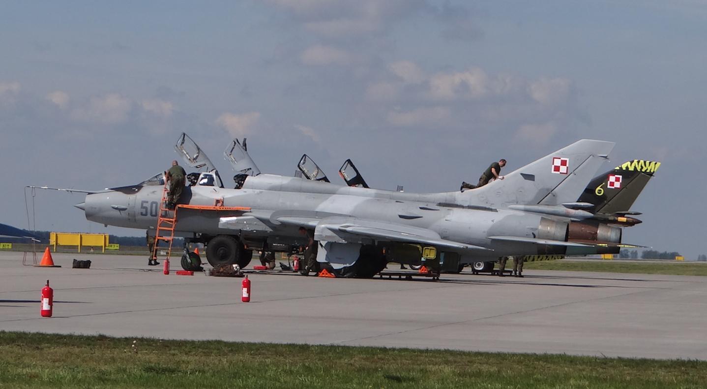 Su-22 nb 509. 2017 rok. Zdjęcie Karol Placha Hetman