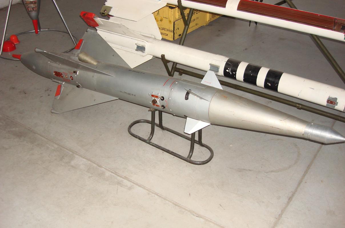Pocisk rakietowy RS-2US. 2007 rok. Zdjęcie Karol Placha Hetman