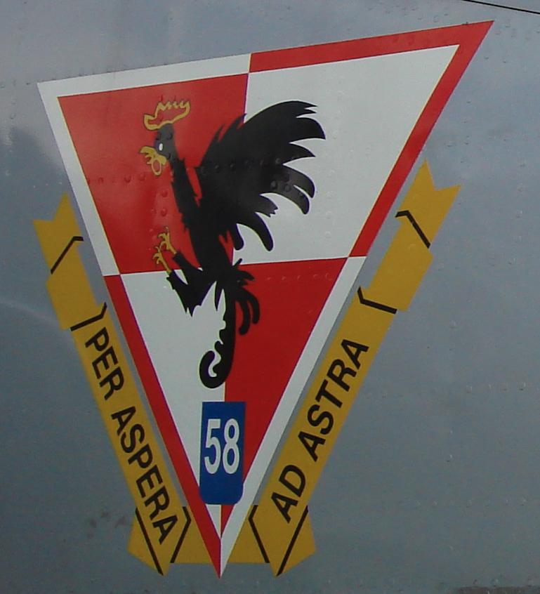 Godło 58 Lotniczego Pułku Szkolno-Bojowego