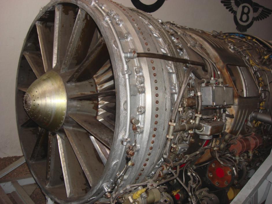Silnik Archip Lulka AL-7 F. Przednia część. 2009 rok. Zdjęcie Karol Placha Hetman