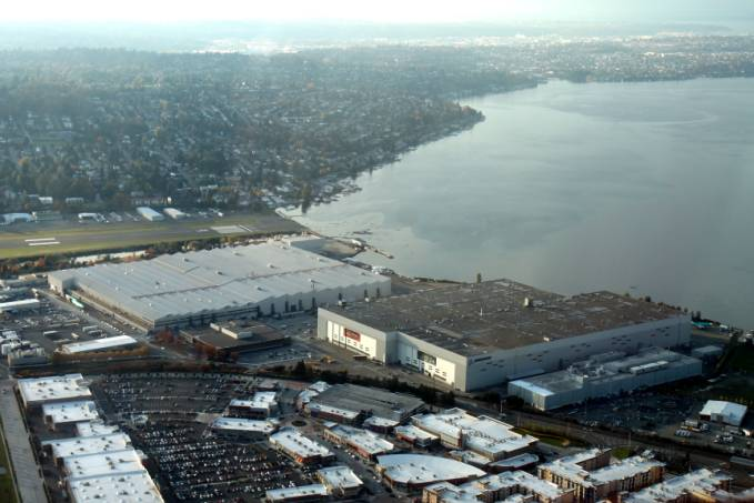 Zakłady Boeing w Renton. 2011r.