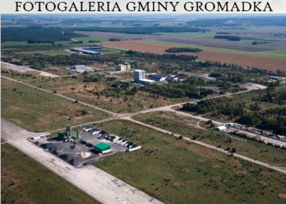 Lotnisko Krzywa. 2008 rok. Zdjęcie Gmina Gromadka