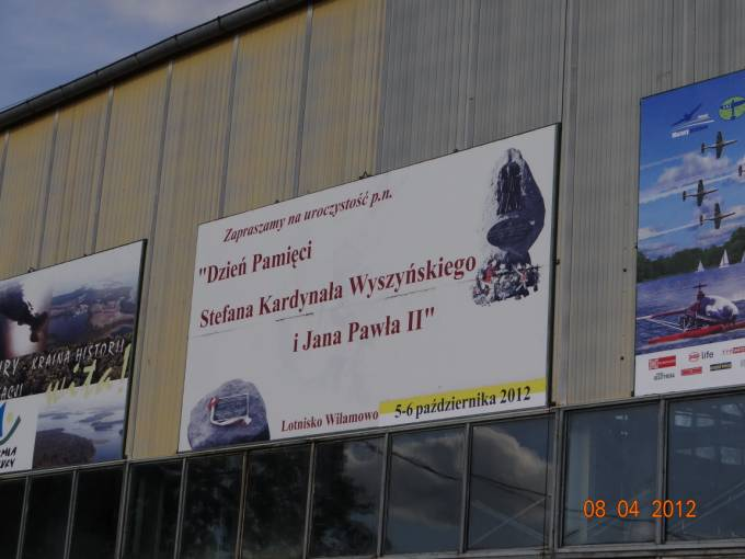 Impreza która kończy lotniczy sezon na Lotnisku Wilamowo. 2012r.