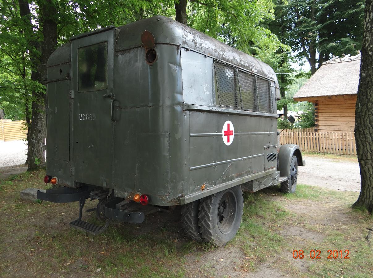 FSC Lublin-51, sanitarka. 2012 rok. Zdjęcie Karol Placha Hetman