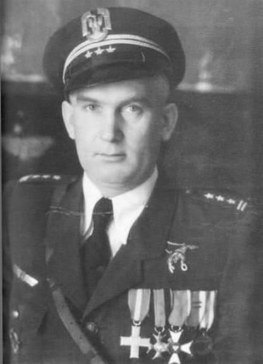 Pułkownika pilot Szczepan Ścibor. Zamordowany przez komunistów w 1952r.