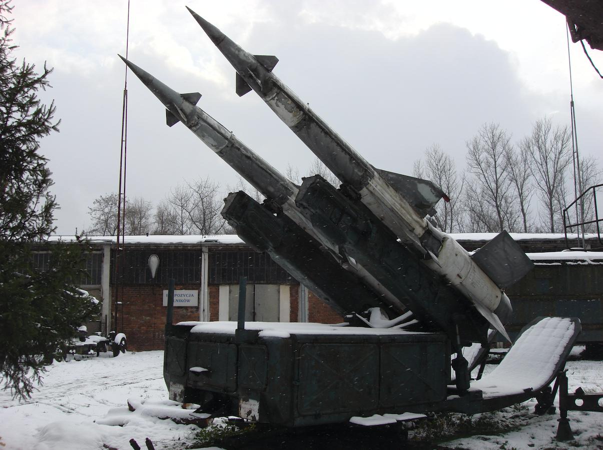 System S-125 Newa. 2007 rok. Zdjęcie Karol Placha Hetman