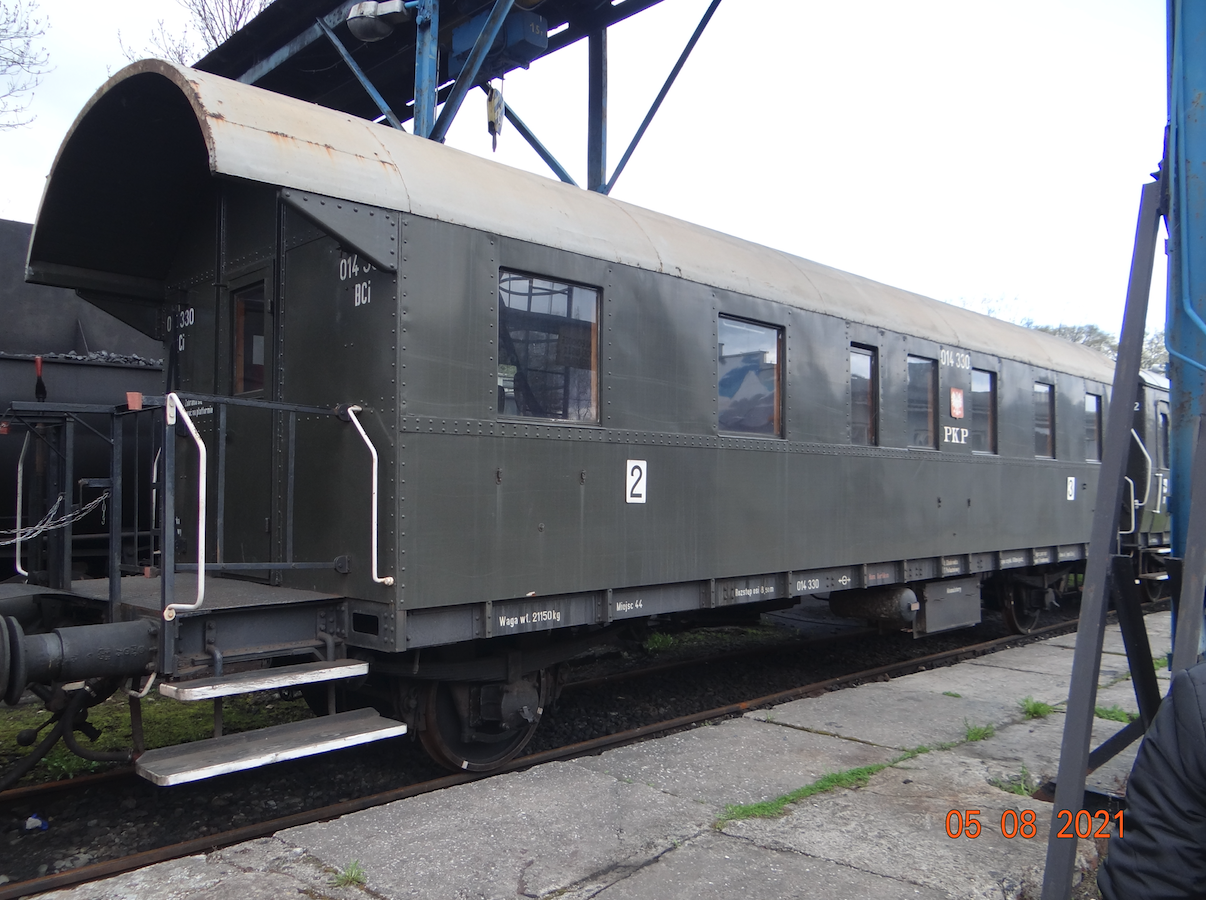 Wagon BCi nr 014330 klasy 2/3. 2021 rok. Zdjęcie Karol Placha Hetman