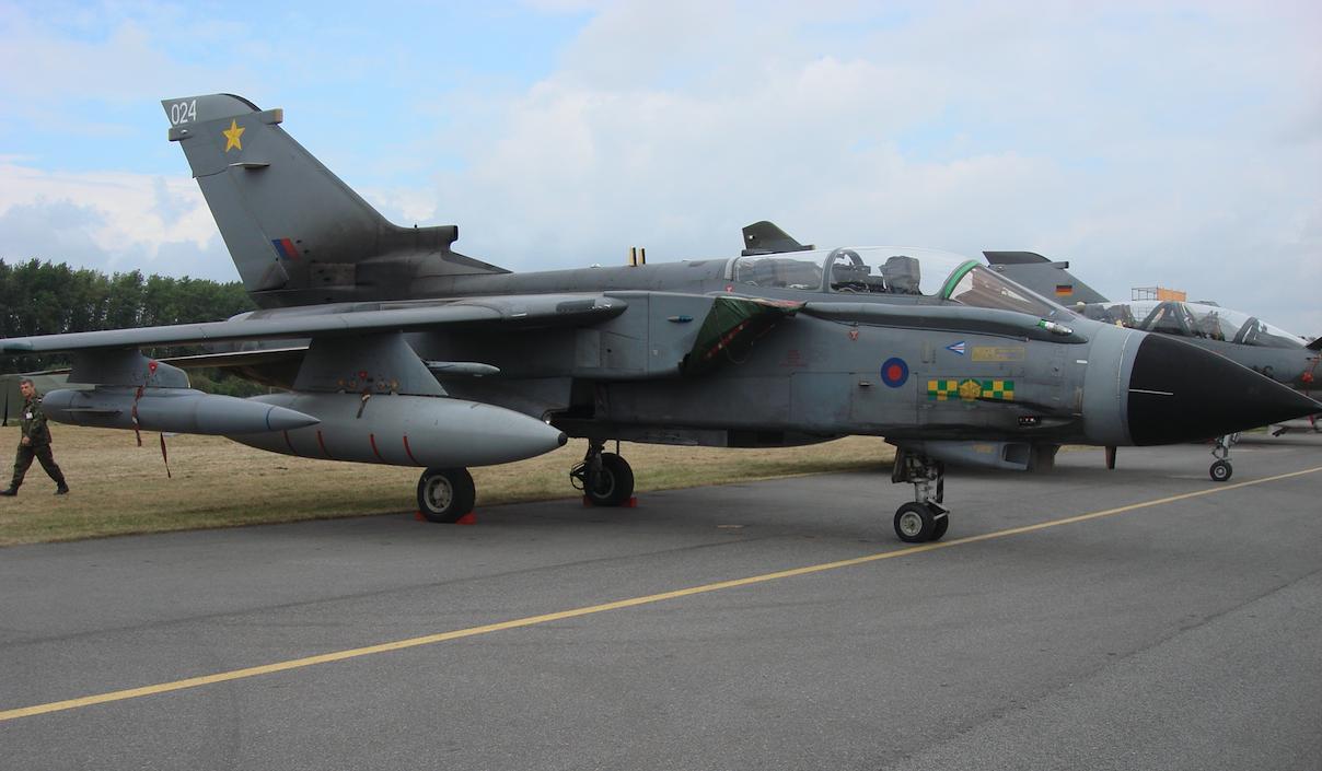 Tornado IDS GR.4 no. ZA458-024. Great Britain. 2007. Photo by Karol Placha Hetman