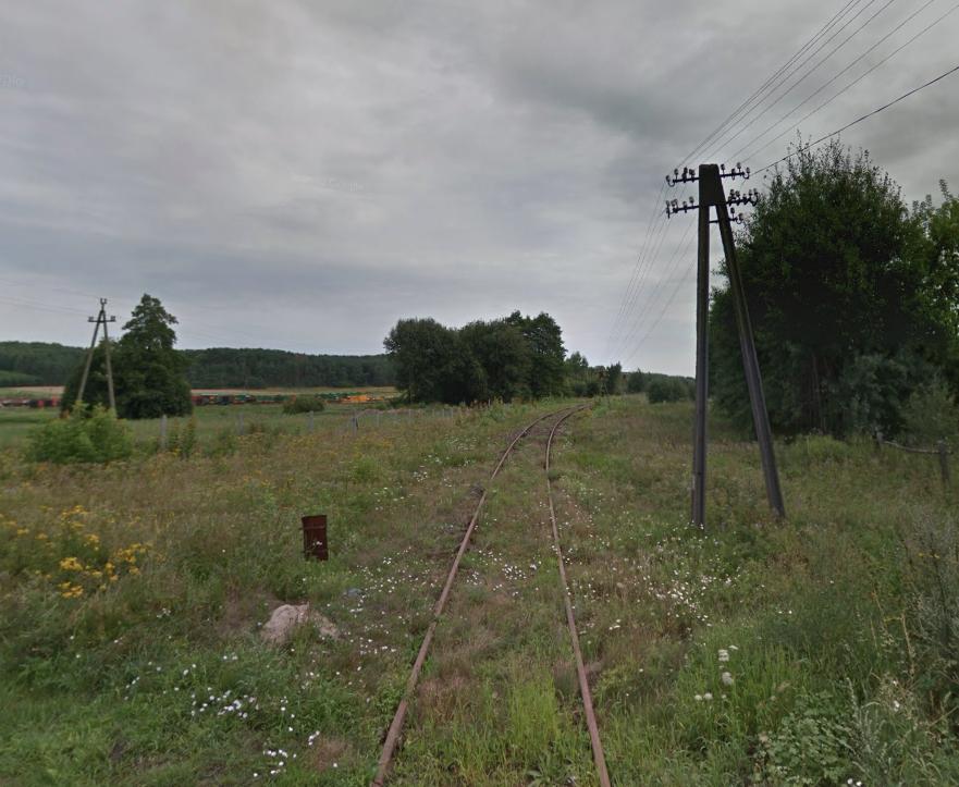 Mirosławiec. Linia kolejowa Nr 410 do Złocieńca. 2013 rok. Zdjęcie LAC