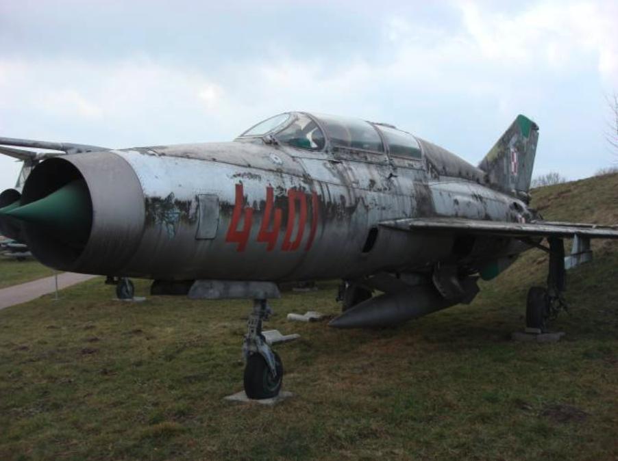 MiG-21 US nb 4401 Czyżyny 2009 rok, Zdjęcie Karol Placha Hetman