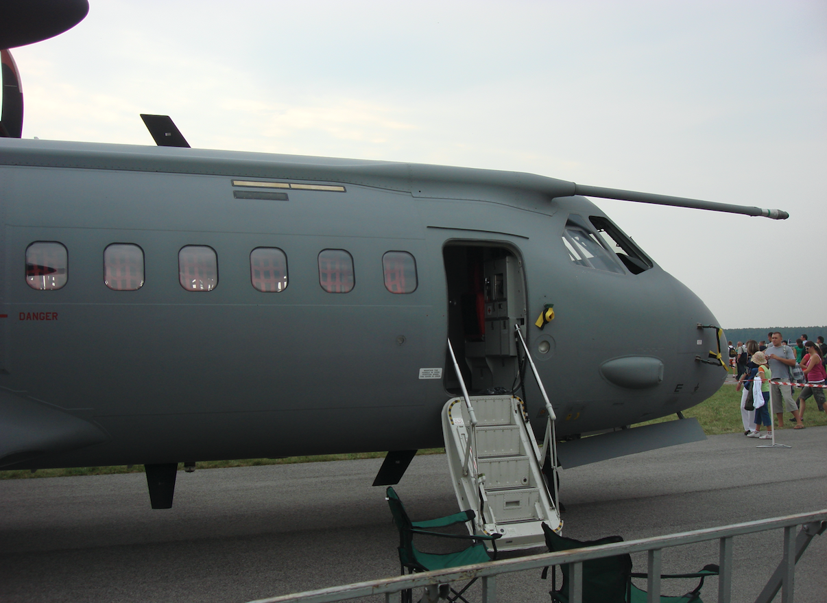 CASA C-295 M nb CC-1. Finlandia. 2009 rok. Zdjęcie Karol Placha Hetman