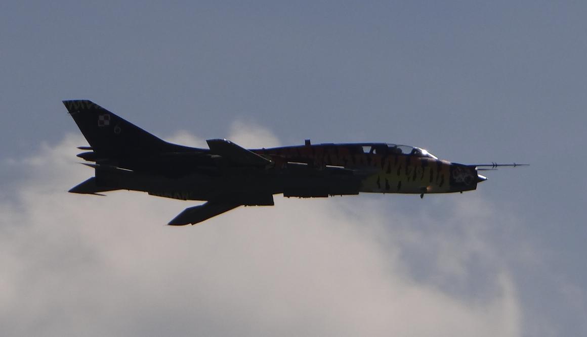 Su-22 UM 3 K nb 707. 2017 rok. Zdjęcie Karol Placha Hetman