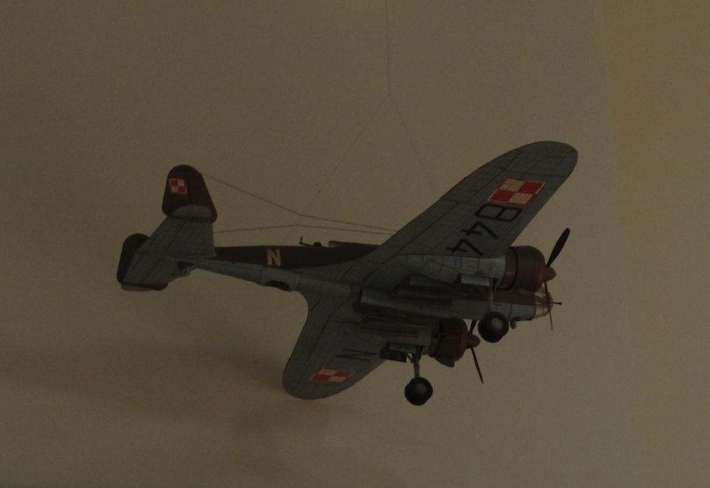 Model PZL-37 B Łoś. 2016. Photo by Karol Placha Hetman