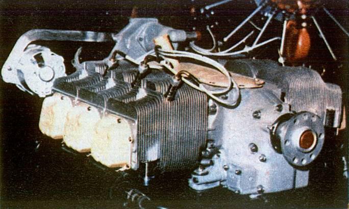 Silnik PZL-Franklin 6A-350-C1. 1980r.