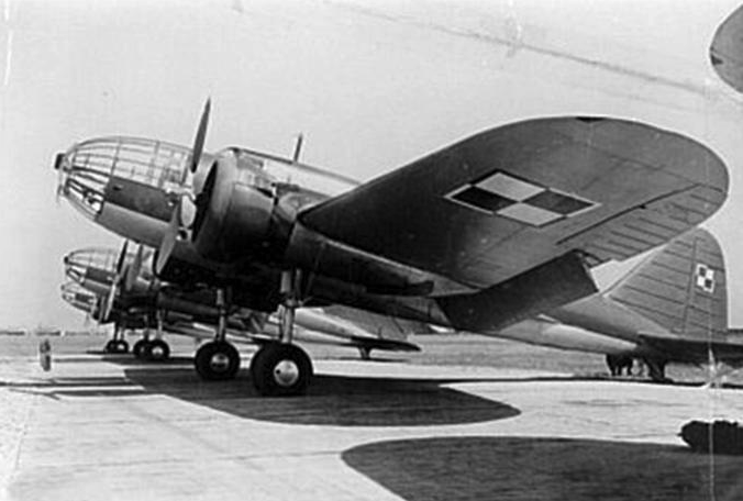 Airplanes in the PZL-37 A bis version were made until July 1938. Photo of LAC