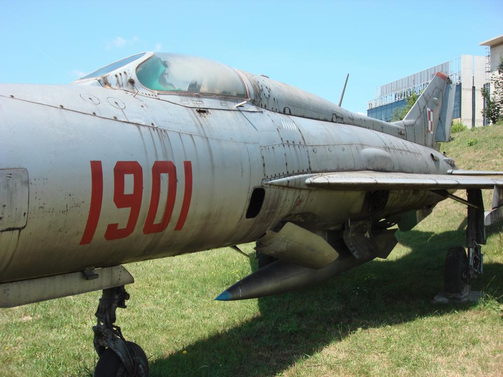 MiG-21 PF nb 1901 Czyżyny.  2007 rok. Zdjęcie Karol Placha Hetman