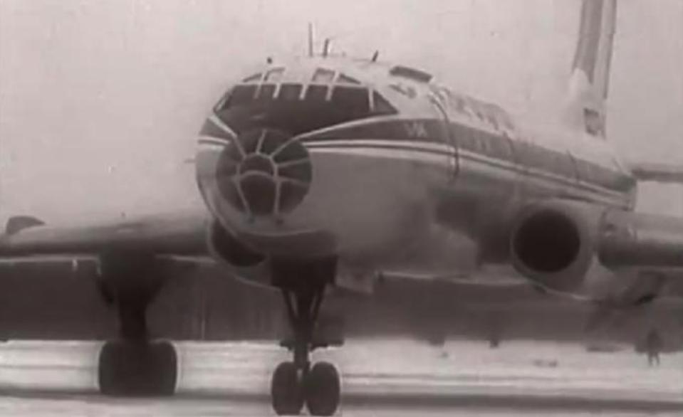 Samolot Tu-104. 1956 rok. Zdjęcie LAC