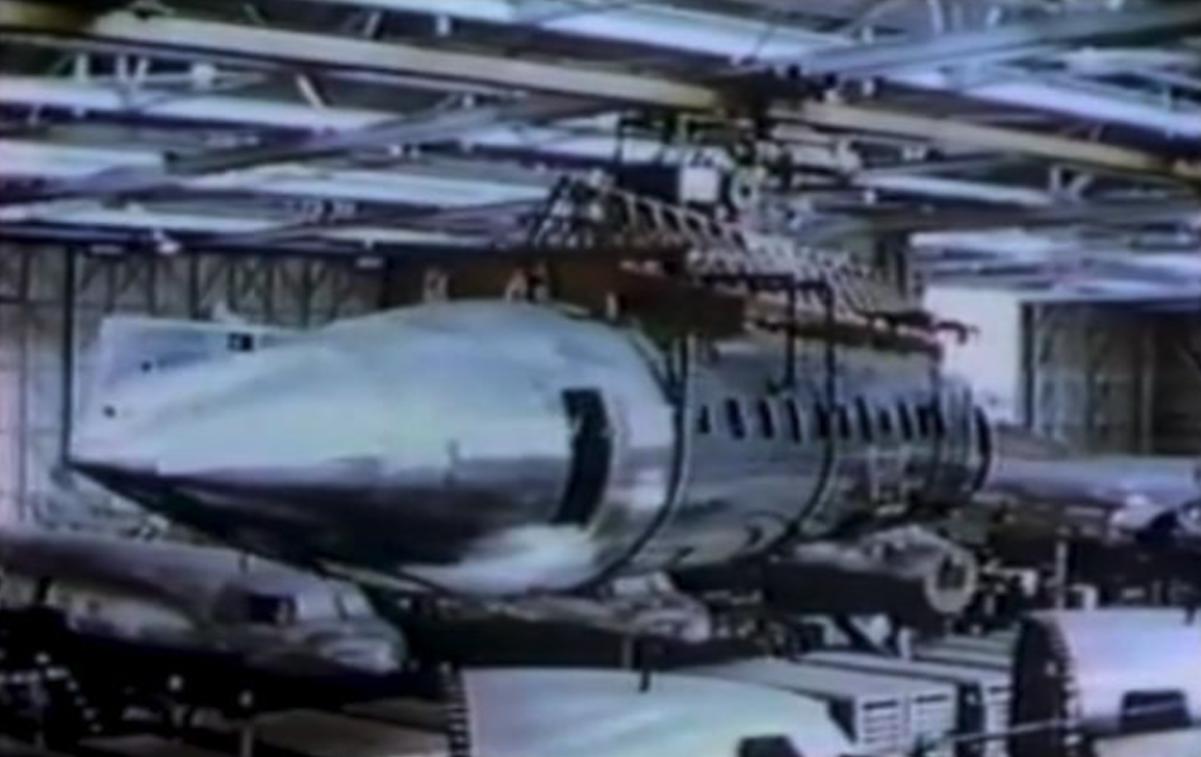Produkcja CV-240. 1950 rok. Zdjęcie Convair