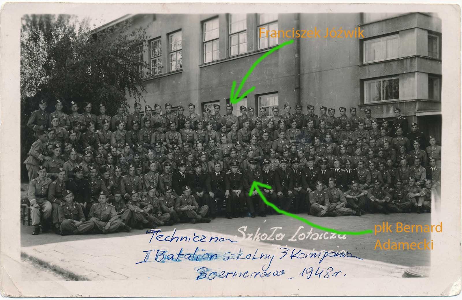 Zdjęcie z rodzinnego albumu pana Sławomira Jóźwik