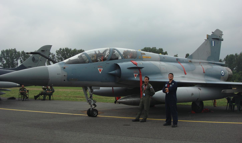 Mirage 2000-5 BG No. 508. Grace. 2009 year. Photo by Karol Placha Hetman