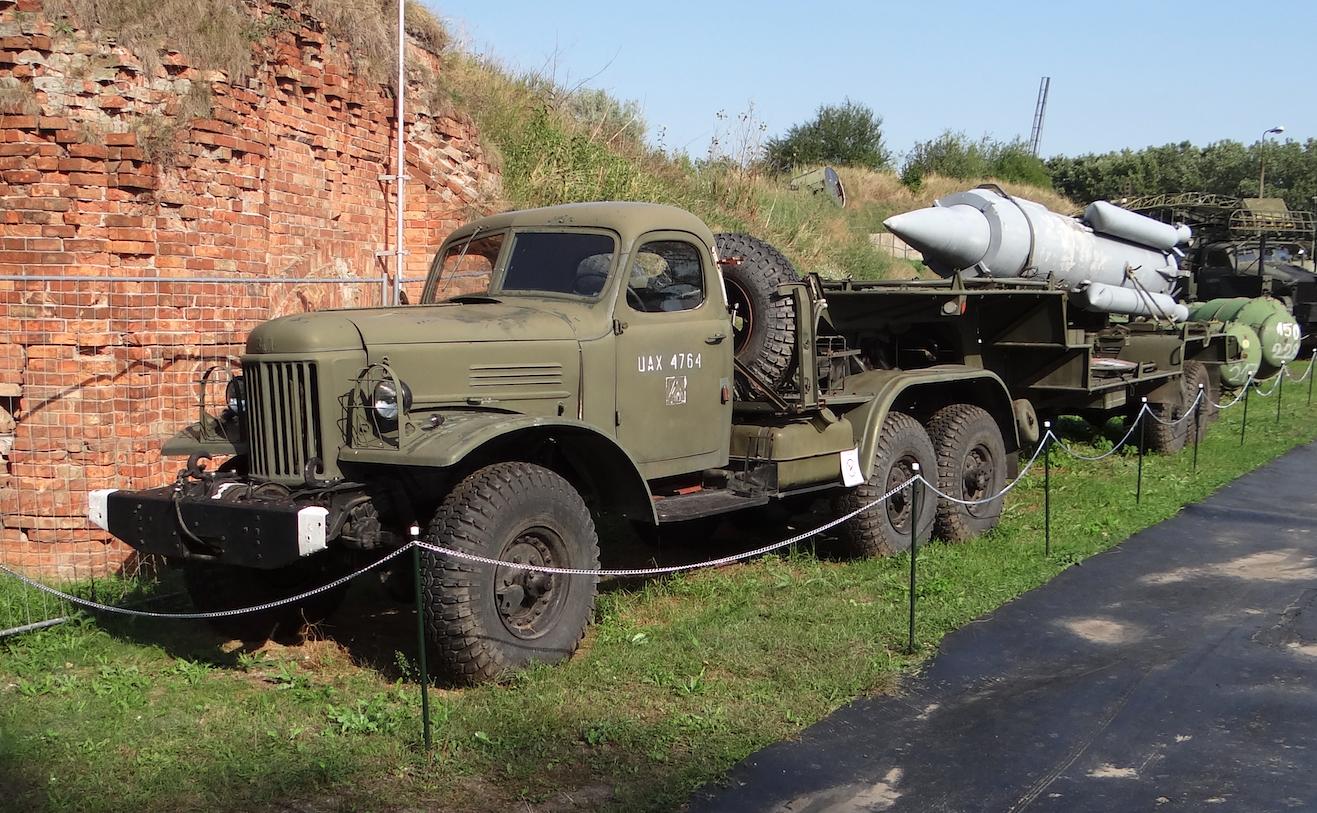 2T6 transport truck, Ził-151 car, 2K11 Krug system. 2012 year. Photo by Karol Placha Hetman
