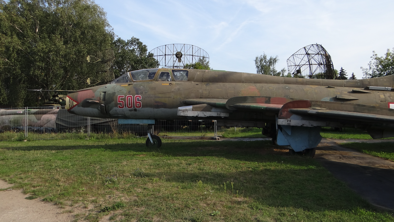Su-22 UM 3 K nb 506. 2012 rok. Zdjęcie Karol Placha Hetman