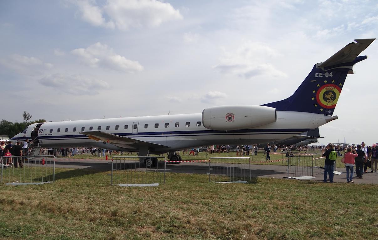 Embraer ERJ-145. Belgium, military. 2015 year. Photo by Karol Placha Hetman