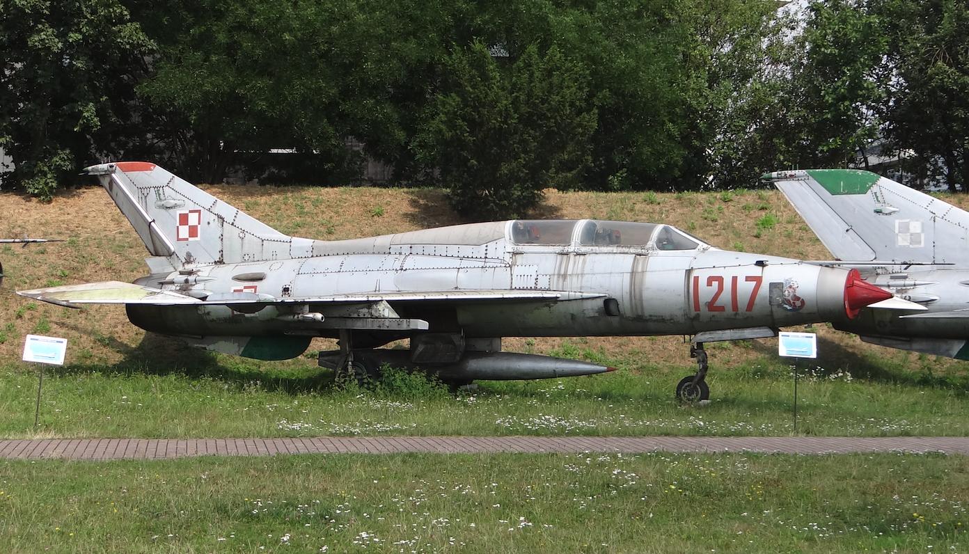 MiG-21 U nb 1217. Czyżyny 2019 rok. Zdjęcie Karol Placha Hetman