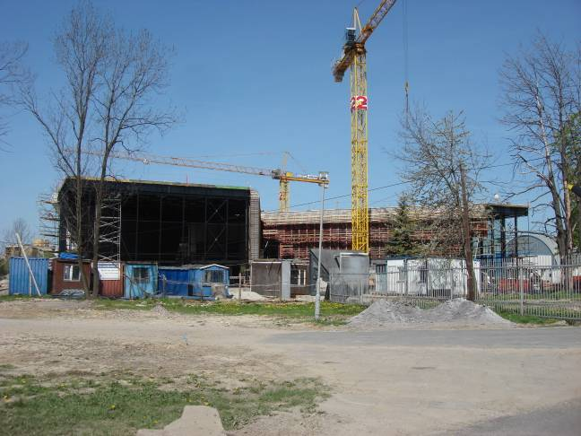 Nowy obiekt MLP. 2009r.