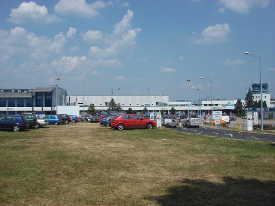 Katowice - Pyrzowice Airport. Photo by Karol Placha Hetman