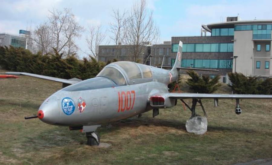 TS-11 nb 1007. Muzeum Lotnictwa Polskiego Czyżyny 2010 rok. Zdjęcie Karol Placha Hetman