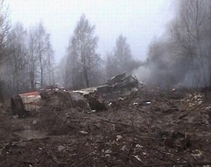 Tyle zostało z Tu-154 M nb 101. Zdjęcie LAC