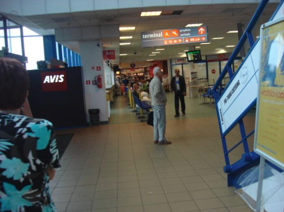 Wnętrze starego Terminalu. 2010 rok. Zdjęcie Karol Placha Hetman