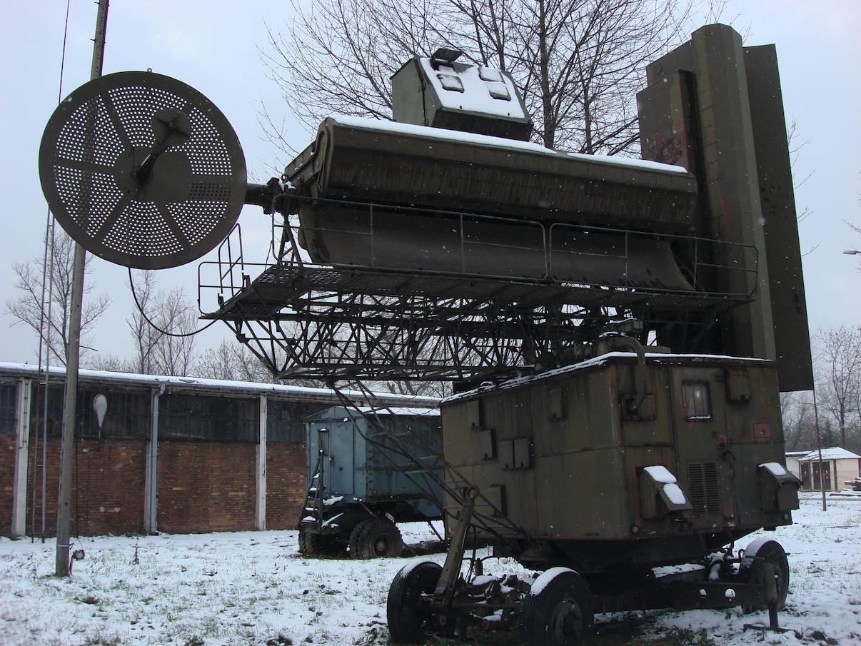 Stacja naprowadzania RSNA-75 systemu S-75. 2012 rok. Zdjęcie Karol Placha Hetman