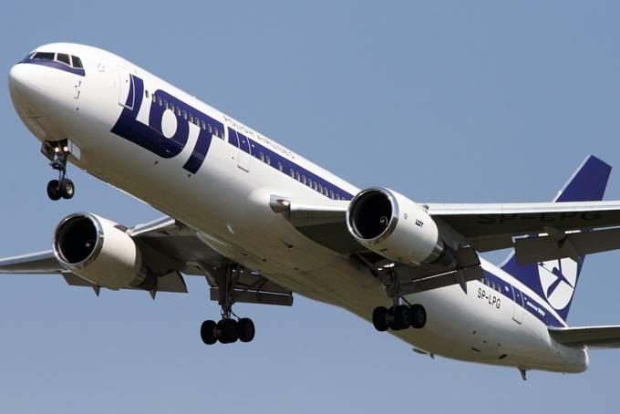 B-767-300 ER rejestracja SP-LPG. 2009r.