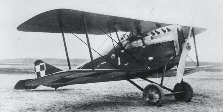 Ansaldo A-1 Balilla. 1922 rok. Zdjęcie LAC