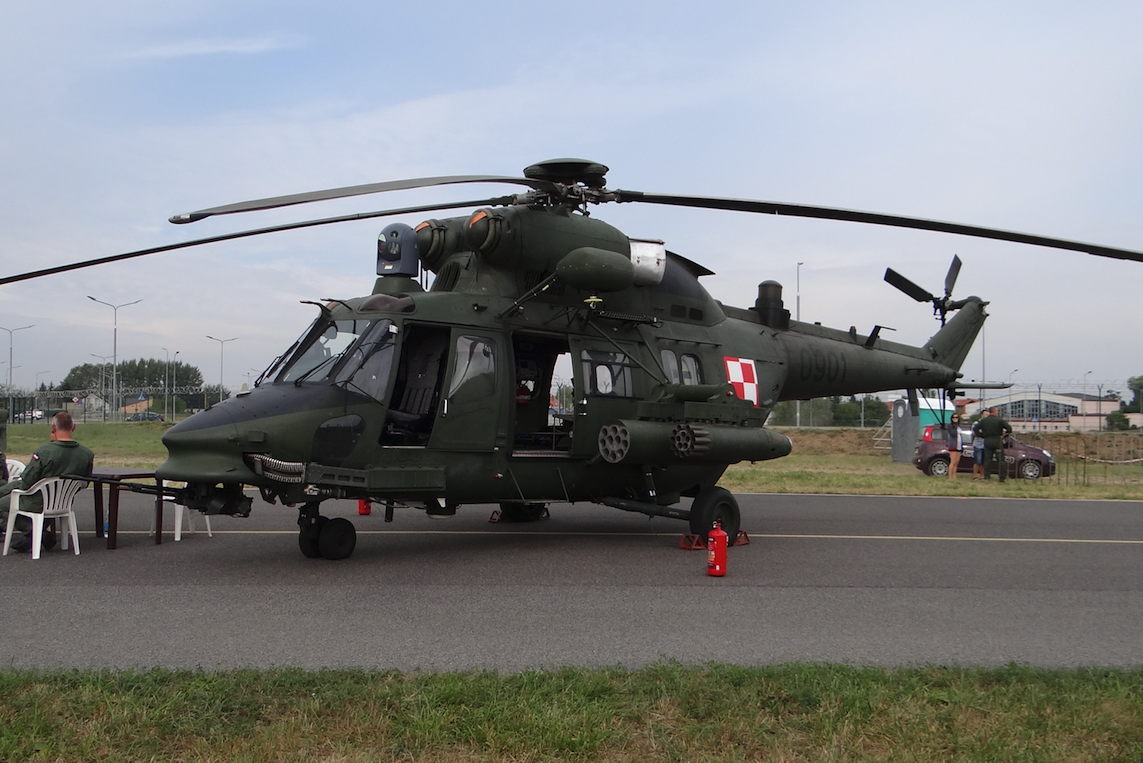 "PZL-Sokół W-3PL ""Głuszec"" nb 0901. 2015 rok. Zdjęcie Karol Placha Hetman"