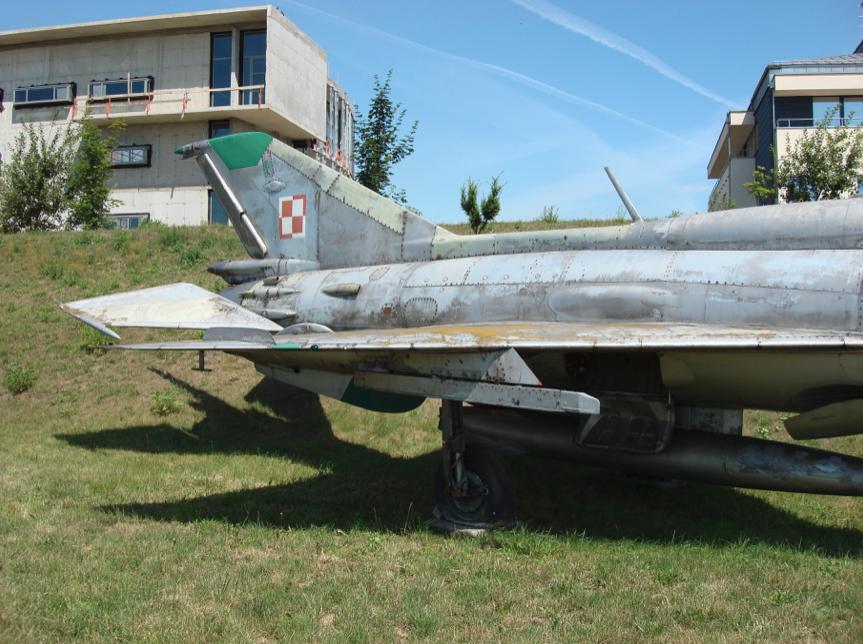 MiG-21 PFM nb 01. 2007 rok. Zdjęcie Karol Placha Hetman