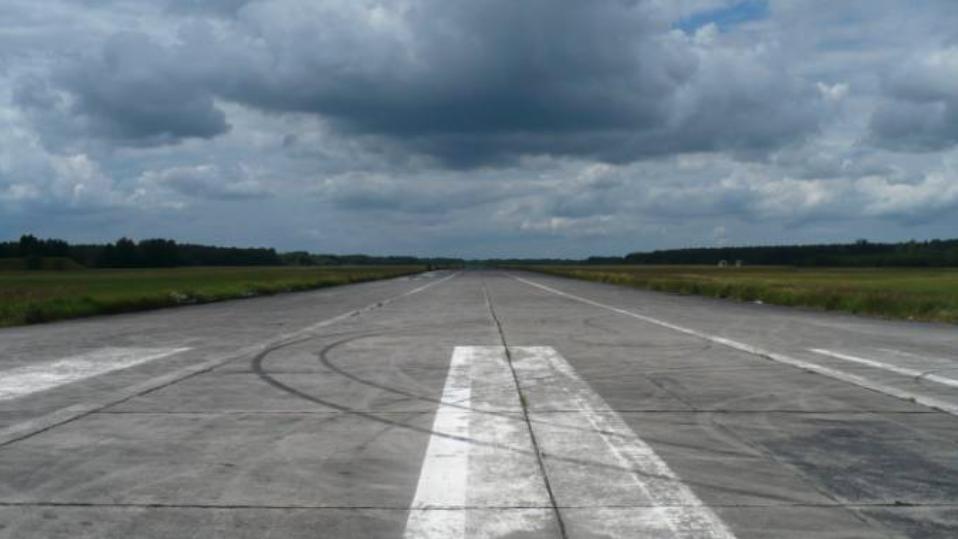 DS lotniska Płoty. 2009 rok. Zdjęcie LAC